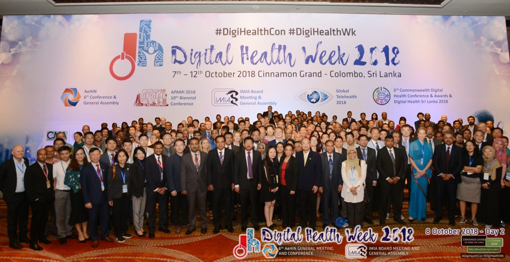 6th AeHIN General Meeting and Conference on Interoperable Digital Health for Universal Health Coverage (Colombo, Sri Lanka)