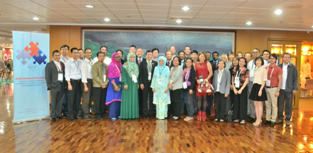 Roundtable on Interoperability at PICC talked about building an interoperabilty lab (later called SIL-Asia)
